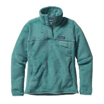 Patagonia Women's Re-Tool Snap-T® Fleece Pullover | Mogul Blue - Mogul Blue X-Dye