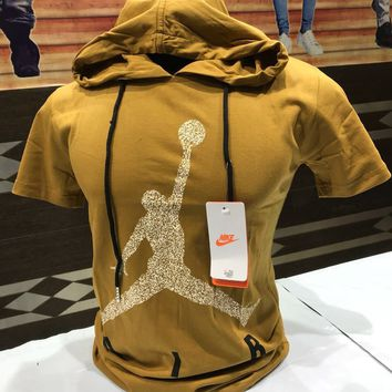 Nike Jordan Flight Hooded T- Shirts