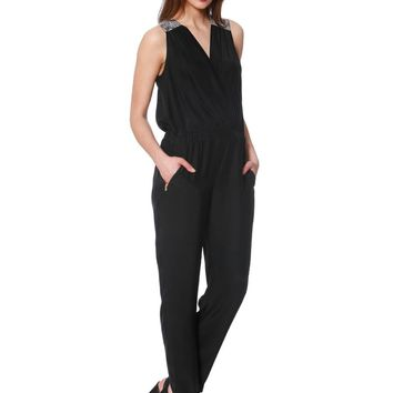 Alice & Trixie Talia Jumpsuit - Black