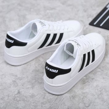 Stylish On Sale Comfort Hot Deal Hot Sale Casual Shoes Korean White Summer Thick Crust Sneakers [11883327571]