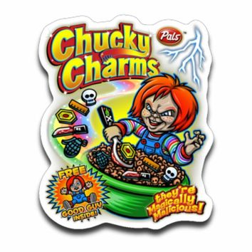Chucky Charms Sticker Decal