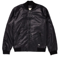 Supremebeing Bomber Jacket in Faux Leather