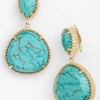 Kendra Scott 'Penny' Drop Clip Earrings