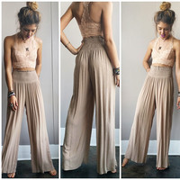 An Earthy Flare Pant
