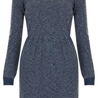 Boucle Long Sleeved Dress - Dresses - Clothing - Topshop