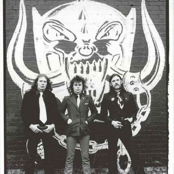 Motorhead London 1979 Poster 24x33