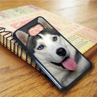 Personalized Husky Dog Samsung Galaxy S6 Edge Case