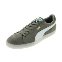 Puma Mens Classic Suede Colorblock Casual Shoes