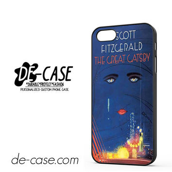 The Great Gatsby Book Art For Iphone 5 Iphone 5S Case Phone Case Gift Present YO