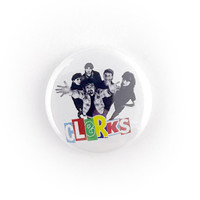 "Clerks - 1"" Button Pin"