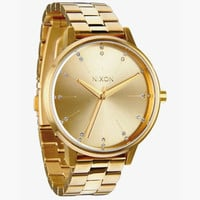 Nixon The Kensington Womens Watch All Gold/Crystal One Size For Men 25598362101