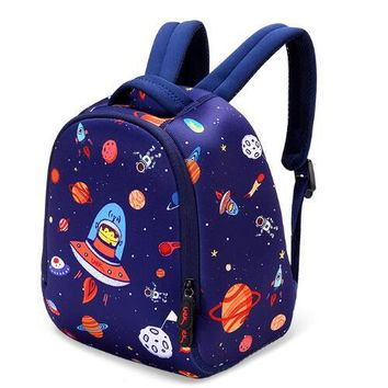 Boys Backpack Bag Cartoon Kids  Children's School Bags s Space Printing Book Bag For Girls and 1-3 Years Old Schoolbag SJ012 AT_61_4