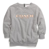 VINTAGE FLEECE 3/4 SLEEVE SWEATSHIRT