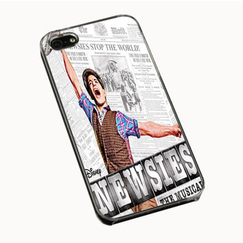 Collage Newsies iPhone 4(S) 5(S) 5C Cases