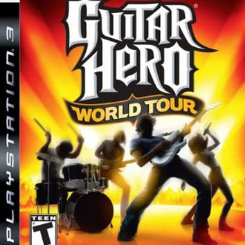 Guitar Hero World Tour (game only) - Playstation 3 (Game Only)