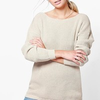 Laura V Back Oversized Jumper