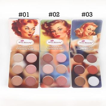 Kiss Beauty Makeup Set Matte Eyeshadow Palette The Nude Color Balm Powder Pigment Shimmer Glitter Eye Shadow Korea Cosmetics