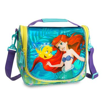 Licensed cool Princess Ariel The Mermaid School Insulated Lunch Tote Box Bag Disney Store NEW