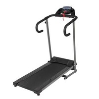 Black 500W Portable Folding Electric Motorized Treadmill Running Machine - Walmart.com
