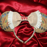Princess Pocahontas Inspired Mouse Ears Headband