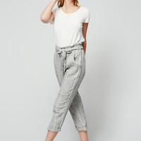 Free People Yarn Dye Paper Bag Pant