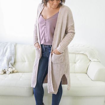 Cuddle Me Cardigan - Oatmeal