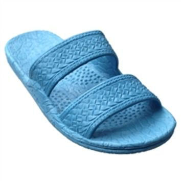 Pali Hawaii Women's PH 405 Sky Blue Slide Sandal - ShopTheDocks.com