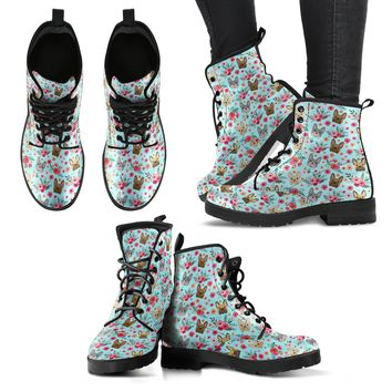 French Bulldog Flower Boots