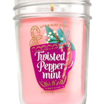 Medium Candle Twisted Peppermint