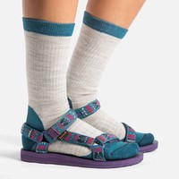 Women's Socks and Sandals | Teva x Woolrich Collaboration