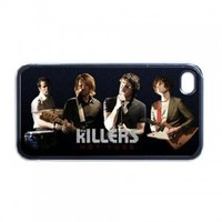 The Killers Rock Band Logo #1 iPhone 4 4S Hard Case Plastic Cover