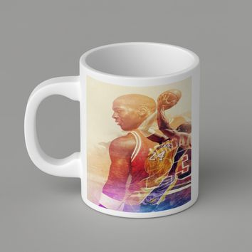 Gift Mugs | Nba Legend Counterpart  For   Ceramic Coffee Mugs
