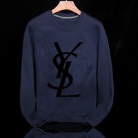 YSL Fashion Casual Top Sweater Pullover-10