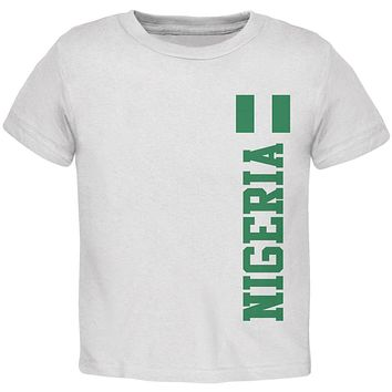 World Cup Nigeria Toddler T Shirt