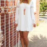 All A Dream Dress: White - Dresses - Hope's Boutique