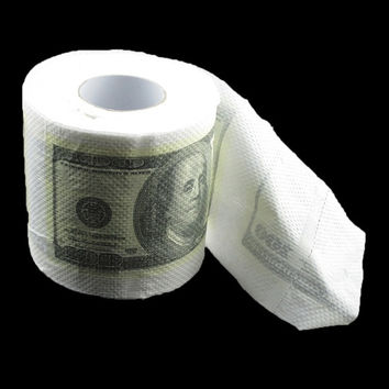 One Hundred Dollar Bill Toilet Paper Novelty Fun Gag Gift (Size: 2) = 1706387460
