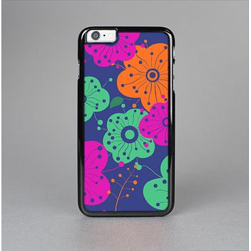 The Bright Colored Cartoon Flowers Skin-Sert for the Apple iPhone 6 Skin-Sert Case
