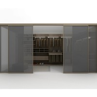 Corner walk-in wardrobe Z402 by Zalf