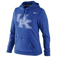 Nike Kentucky Wildcats Ladies Fan Jersey Pullover Hoodie - Royal Blue