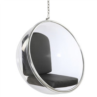 Hanging Bubble Chair Black