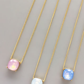 Sweet Sarah Pendant Necklaces - in 3 colors