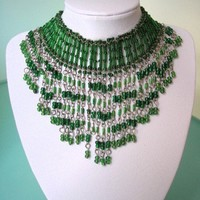 Vintage Bib Necklace
