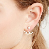 Rhinestoned Ear Jackets