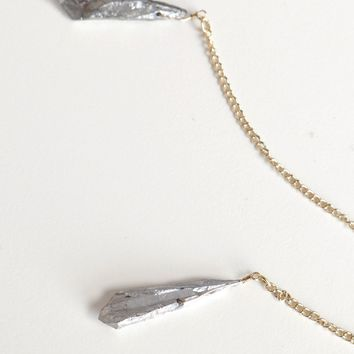 Twice As Good Stone Necklace