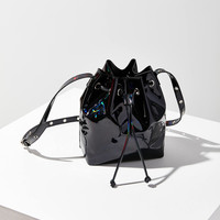 Abigail Patent Bucket Bag | Urban Outfitters