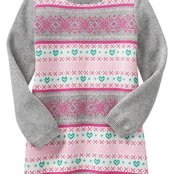Gap Baby Factory Fair Isle Dress
