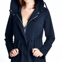 Navy Blue Army Jacket