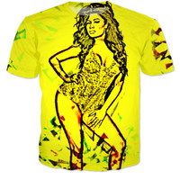 Abstract Nicki Minaj Shirt