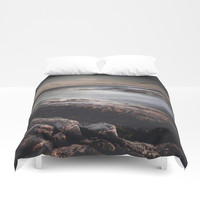 We are colliders Duvet Cover by HappyMelvin