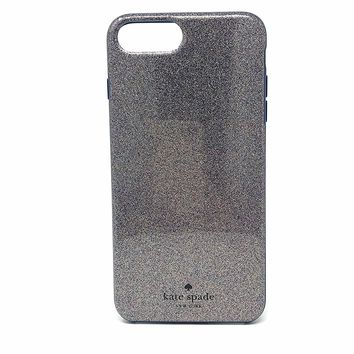 Kate Spade New York Protective Case for iPhone 7 Plus and 6 Plus - Multi Glitter French Navy